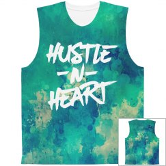 Hustle N Heart All Over Print Tank