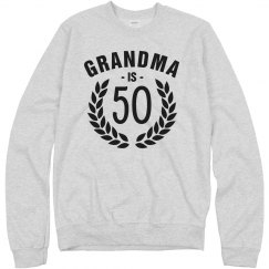 Grandma is Fifty!