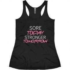 Motivational Workout Tank