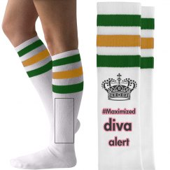 #maximized diva alert socks