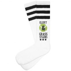 These Are My Grass Stain Socks