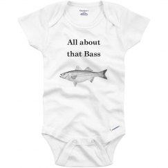 All about that Bass onsie