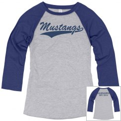 Mustang 3-Quarter Sleeve (Female)