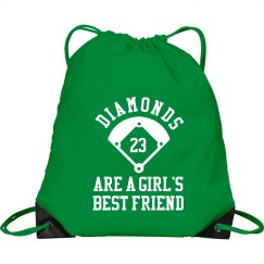 Funny Softball Gear Bags