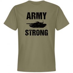 Army strong shirt