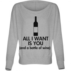 All I Want - Wine
