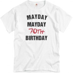 Mayday mayday 70th birthday