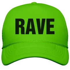 Rave Neon Green Hat