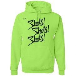 Green 'shots' Hoodie