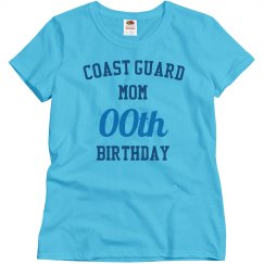 Customize coast guard mom bday