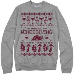 Winesgiving Ugly Sweater