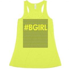 BGirl Dance Crop Top Neon