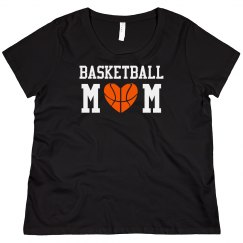 Basketball Mom Bling Shirt