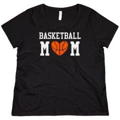 Basketball Mom Bling Shirt