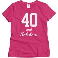 Ladies fabulous 40