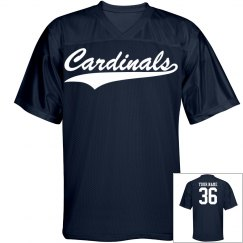 Cardinals custom name and number sports jersey