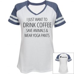 Coffee Animals and Yoga Pants
