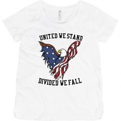 United We Stand Maternity T-Shirt