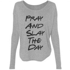 Pra and Slay Bella Flowy Lightweight Shirt