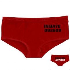 Harley Quinn Inmate Panties