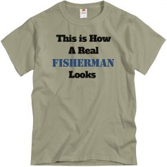 This is a real fisherman