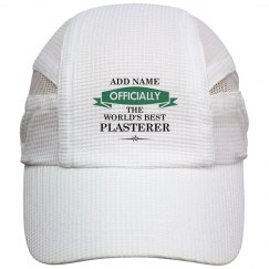 World's Best Plasterer Cap