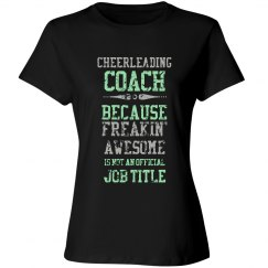 Awesome Cheer Coach