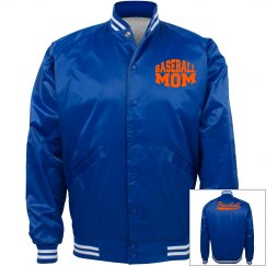 Baseball Mom Bomber Jacket