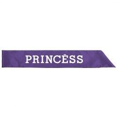 Princess  Sash