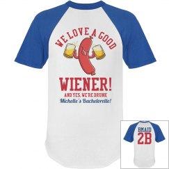 Funny Baseball Bachelorette Party Shirts Bridesmaid