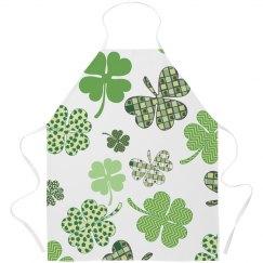 Irish Shamrock Cooking Apron