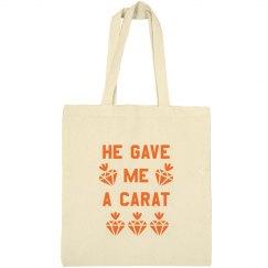 He Gave Me a Carat Easter Bag