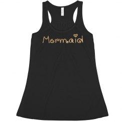 Mermaid f tank top