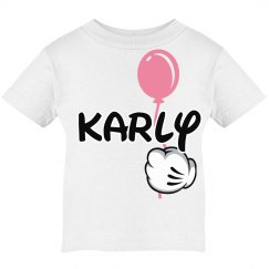 Balloon Magical Vacation Girl T