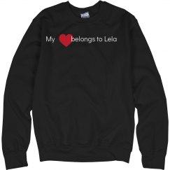 Heart belongs to Lela