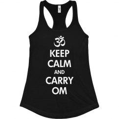 Keep Calm & Carry Om