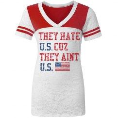 They Hate U.S. Cuz They Aint U.S