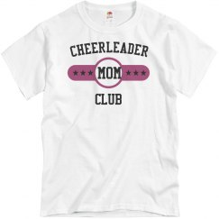 Cheerleader mom club