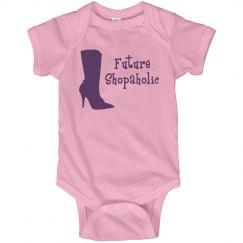 Future Shopaholic Onesie