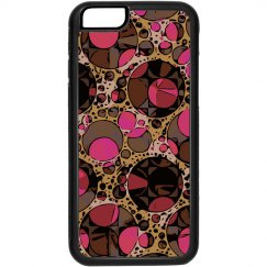 Pink Brown Abstract Pattern