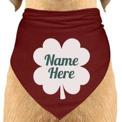Custom St. Patrick's Day Dog