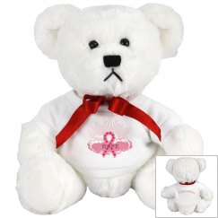Pink Ribbon Of Hope Bear