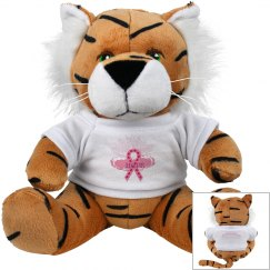 Pink Ribbon Of Hope Tiger