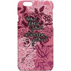 Pink Garden - 6/6s case