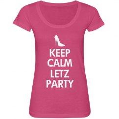 Letz party - keep calm