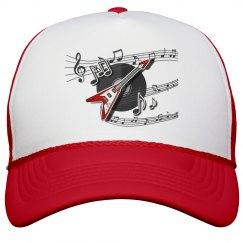 Musical Peak Cap