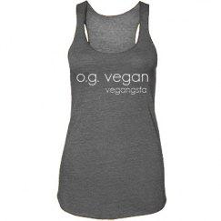 og vegan eco racerback