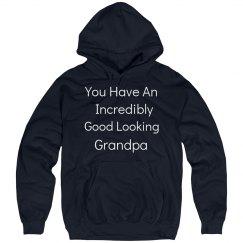 Incredibly good looking grandpa