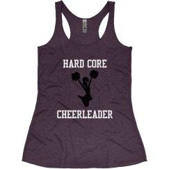 Hard core cheerleader
