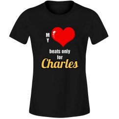 Heart beats for Charles